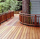 Wood Decking and Railing