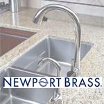 Newport Brass kitchen sinks - Berkeley, CA