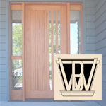 custom wooden door showroom - Berkeley, CA